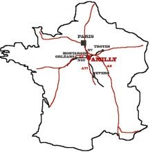 carte accès amilly