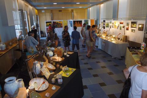 L'exposition des artisans d'art