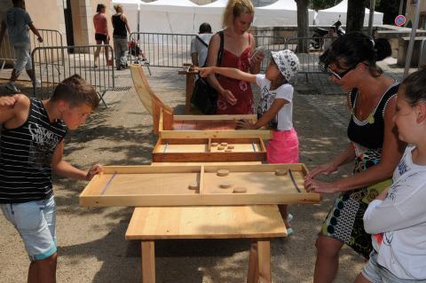 Village enfants et jeux en bois